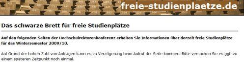 freie Studienplätze.de