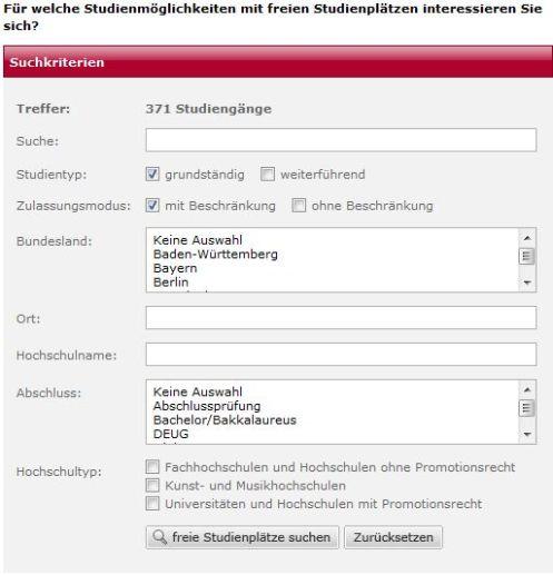 Hochschulkompass.de